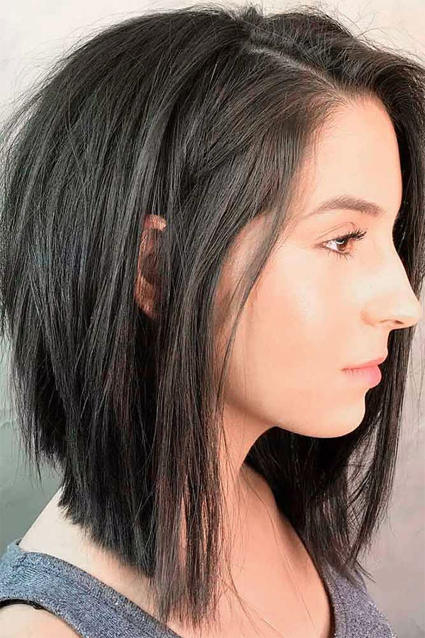 short hair styles straight hair