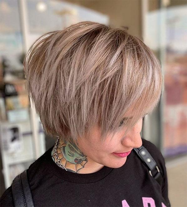short short haircuts