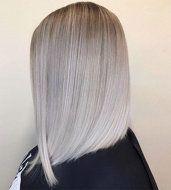 short straight hairstyles 2020