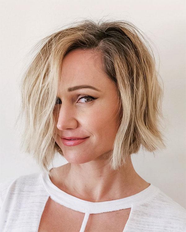 short wavy hairstyles 2021