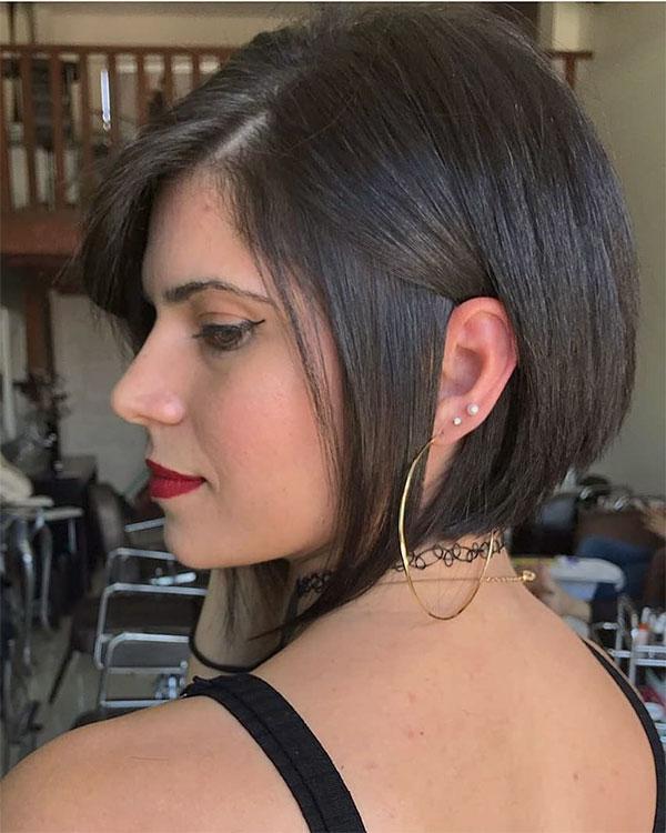 step haircut for straight hair