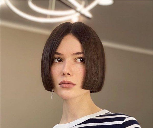 straight short hairstyles 2021