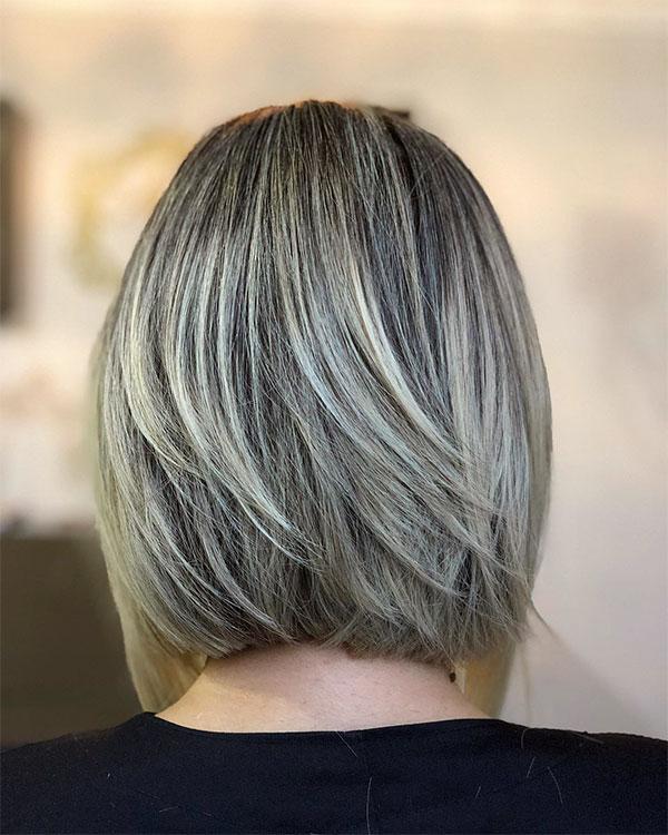 wavy hair and straight hair