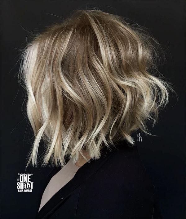 wavy short hair cuts