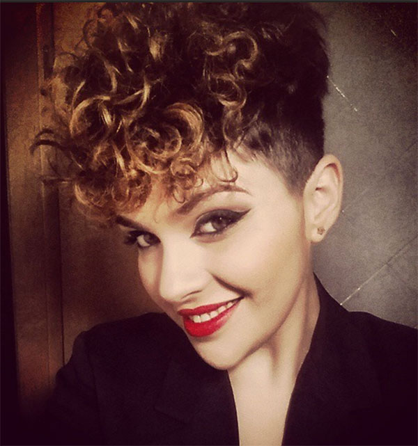 women's curly haircut styles