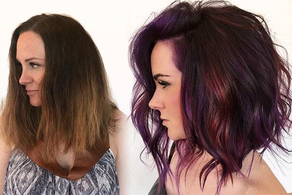 womens short hair